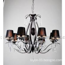 Luxury design star hotel chandelier pendant lamp