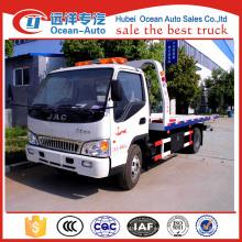JAC 4x2 road removal truck wrecker para la venta