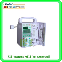 Portable IV syringe infusion pump with CE
