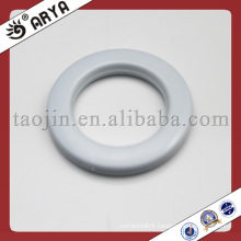 white color curtain rings