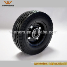 High Performance Strong 6X2 pu foam filled rubber wheel