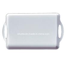 Vaisselle 100% de mélamine - plateau d'approvisionnement d'hôtel avec des oreilles / vaisselle de première catégorie (WT9015)