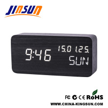 Square Low Voltage Led Calendar Clock