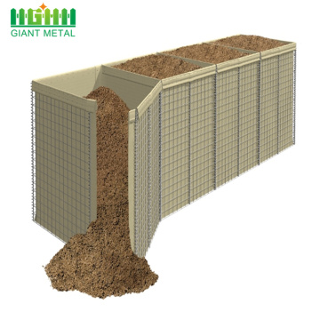 Hesco Barriers for Defensive Barrier