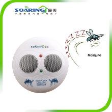 Repelente de mosquito de alta freqüência com dois alto-falantes