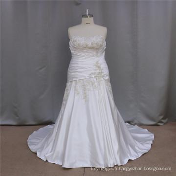 Plus de robes de mariée de taille Chine