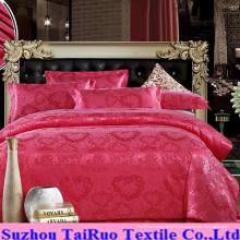 Satin de soie gaufré pour ensemble de draps