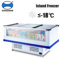 Equipamento de refrigeração refrigerador de frutos do mar da ilha