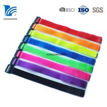 Attache-câble à crochet et boucle imprimée réutilisable en nylon