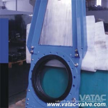 Válvula de compuerta de cuchilla neumática / de gas wafer / Lug / bridada CS / Ss