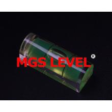 Professional Acrylic Vial D Shape 700305