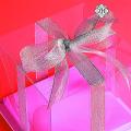 Transparent Plastic Cake Packaging Box Customize