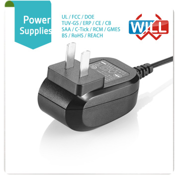 Aprovação CCC 5 volts 6v 12v 1.5amp 800ma 4a adaptador de alimentação