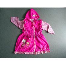 Lovely Design PVC Mädchen Regenjacke mit Kapuze