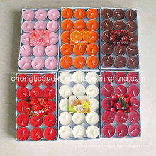 Variety of Colors and Scents Tealight Candles