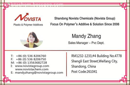 mandy name card