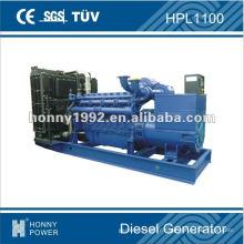 Groupe électrogène diesel 800kW, HPL1100, 50Hz