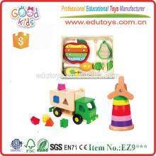 Vente chaude de jouets de musique en bois faits main et de haute qualité pour bébé