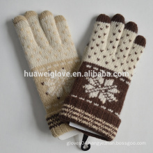 iTouch Gloves Winter Acrylic Touch Knitted Gloves Factory Customed Gloves