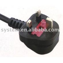 uk power cord with plug