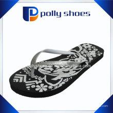Sandales Flip-Flop Femme Taille 10 Noir Nouveau