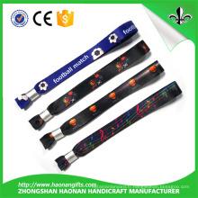 Bracelet en tissu personnalisé de haute qualité et de la mode