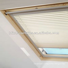 Skylight blind Insulated fabric