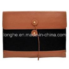 Denim & PU Clutch/Messenger Bag (LY0164)