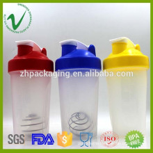 2016 new products BPA free sport protein empty plastic shaker joyshaker bottle for wholesale