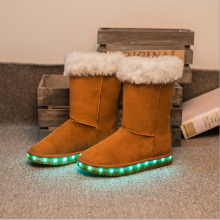 New Style Snow Boot Fow femmes LED Sneaker