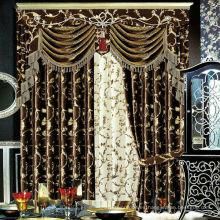 2015 cortinas de ventana europeas del estilo de la manera real de la alta calidad