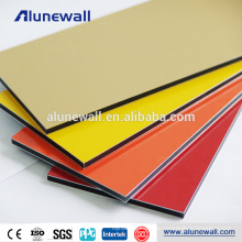 2M Breite PVDF Wanddekoration Panel Aluminium-Verbundplatte