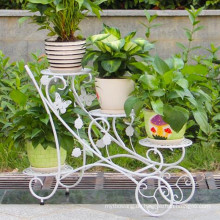 Schmiedeeisen-Pflanzer-Ständer für Outdoor-Dekoration