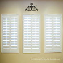 PVC fauxwood shutter with good quality