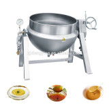 XYQG-A300 Industrial stainless steels steam heating soup boiling pots