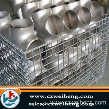 Manufactur standard for Galvanized Steel Tee carbon steel tee ASTM A234 WPB supply to Algeria Exporter