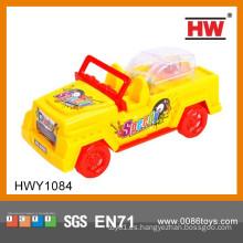Línea de tiro de plástico de venta caliente mini juguetes de juguete con Candy