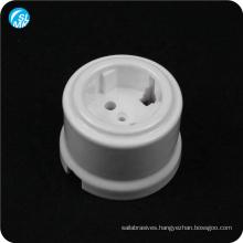 glazed abrasion resistance 95 alumina ceramic wall socket ceramic base
