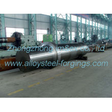 En10228 Precision 35crmo Alloy Steel Hot Forged The Shaft Ef+ Lf+ Vd Cement Equipment Part
