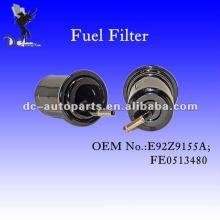 Filtro de combustible en línea completo para Mazda y Ford E92Z 9155A