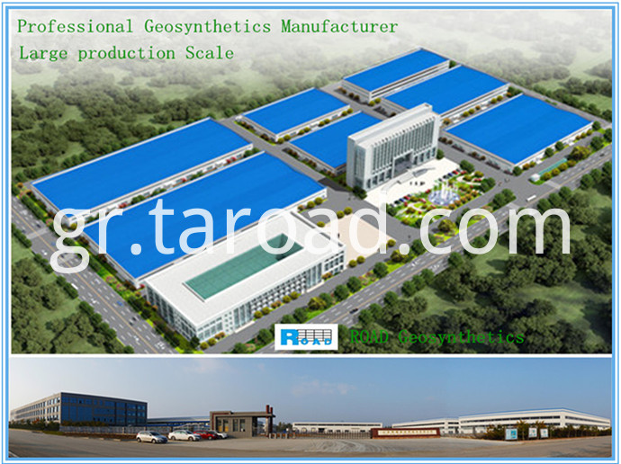 Glass Fiber Asphalt Geogrid factory