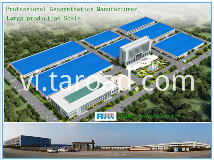 PET Uniaxial Geogrid factory