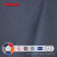 Tela ignífuga de algodón / nylon para ropa protectora
