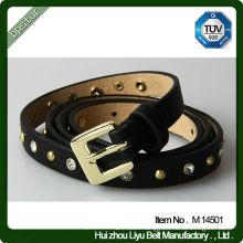 High Quality PU Leather Studs Belts Kids