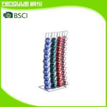 40PCS Metal Wire Nesspresso Coffee Pods Rack
