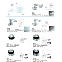 high door hinge / stainless steel glass clamp