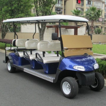 8 seats electric used golf cart