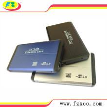 Boîtier externe en aluminium de matériel de HDD de 480Mbps 2.5
