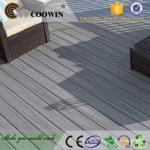 Preços de pavimento em madeira maciça HDPE composite outdoor
