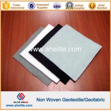 Negro Blanco Gris Color Pet PP Tejido No tejido Geotextil